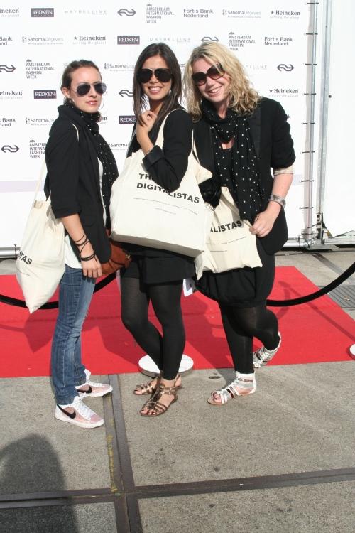 The Digitalistas at the Amsterdam International Fashion Week