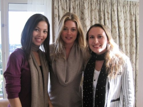 Digitalista E. and K. with Doutzen Kroes