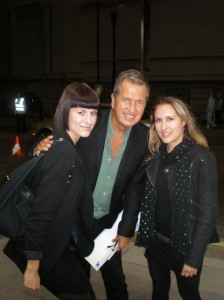 Mario Testino with Digitalista K. and muze E.
