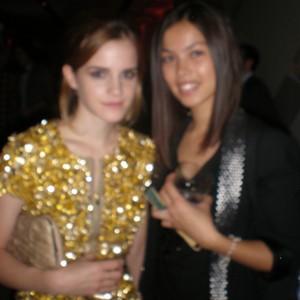 Emma Watson and Digitalista E. So not sharp!!!