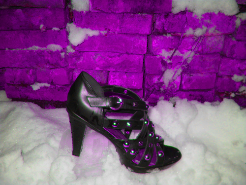 Winter wonder why land high heel by Chifff